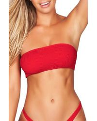 Bond-eye - Bound By Bone-eye The Sierra Bandeau Bikini Top - Lyst