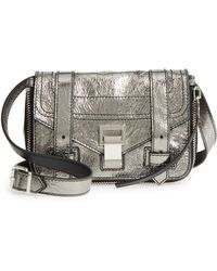 Proenza Schouler - Mini Ps1 Metallic Leather Crossbody Bag - - Lyst