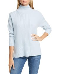 Nordstrom Cashmere Tunic Sweater - Blue