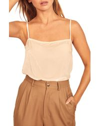 Reformation Ross Camisole - Natural