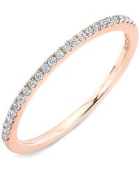 Bony Levy - Diamond Stacking Ring (nordstrom Exclusive) - Lyst