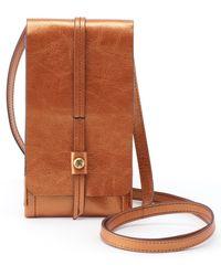 Hobo Token Smartphone Crossbody Bag - Metallic