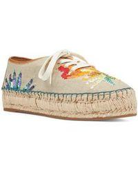 Nine West - Guinup Embellished Espadrille Sneaker - Lyst