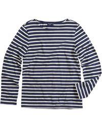 Saint James - Minquiers Moderne Striped Sailor Shirt - Lyst