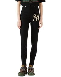 Gucci - Ny Patch Skinny Jeans - Lyst