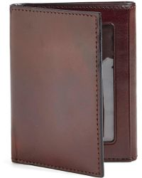 Bosca - 'old Leather' Trifold Wallet - Lyst