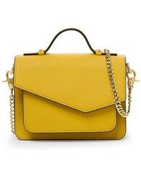 Botkier | Mini Cobble Hill Calfskin Leather Crossbody Bag | Lyst