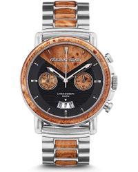 Original Grain Alterra Chronograph Bracelet Watch - Metallic