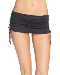 La Blanca - Skirted Hipster Bikini Bottoms - Lyst