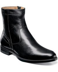Florsheim Midtown Zip Dress Shoe - Black