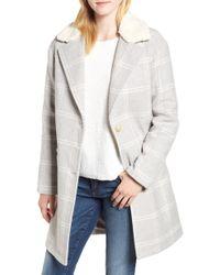 Levi's - Wool Top Coat - Lyst
