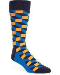 Happy Socks - Optic Socks - Lyst