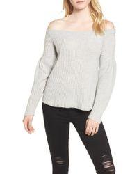 Rebecca Minkoff - Lottie Off The Shoulder Sweater - Lyst