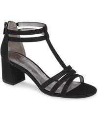 Adrianna Papell - Anella Block Heel Sandal - Lyst