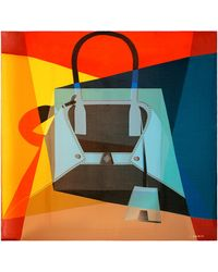 Akris Ai Print Cotton & Silk Scarf - Multicolor