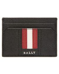 Bally - Thar Leather Card Case - Lyst