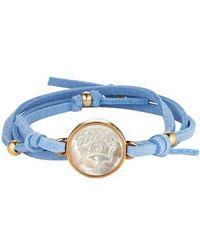 Asha | Zodiac Suede Wrap Bracelet | Lyst