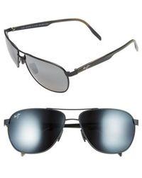Maui Jim - 'castles - Polarizedplus2' 61mm Aviator Sunglasses - - Lyst