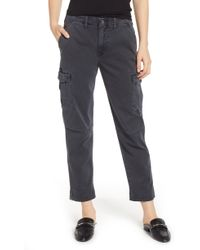 Hudson Jeans Jane Relaxed Cargo Pants - Multicolor