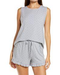 BP. Nori Shorts Pajamas - Gray