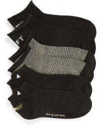 Kate Spade - 3-pack Hayden Cat Ankle Socks - Lyst