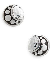 John Hardy - Hammered Dot Stud Earrings - Lyst