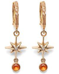 c915a2643 Nordstrom. Marlo Laz - Lucky Star Diamond & Sapphire Earrings - Lyst