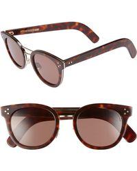 Cutler & Gross - 52mm Round Sunglasses - - Lyst
