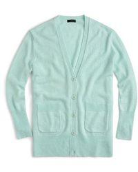 J.Crew - Oversize Wool Blend Cardigan - Lyst