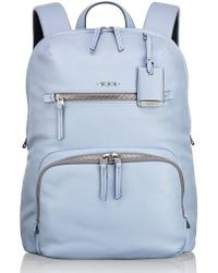Tumi | Voyageur Halle Leather Backpack | Lyst