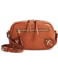 Sole Society Dael Faux Leather Crossbody Bag - Multicolour