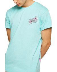 TOPMAN - Hawaii Graphic T-shirt - Lyst