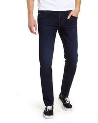 AG Jeans Dylan Skinny Fit Jeans - Blue