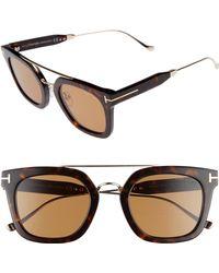 048f45e19c0 Lyst - Tom Ford Eyeglasses Ft 5323 048 Shiny Dark Brown in Brown for Men