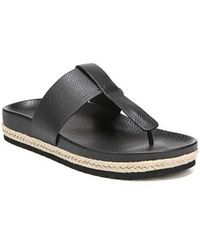 Vince - Avani T-strap Flat Sandal - Lyst