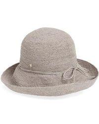 Helen Kaminski - 'provence 10' Packable Raffia Hat - Lyst