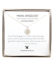 Dogeared - 'legacy Collection - Love Life' Pendant Necklace - Lyst