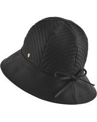 527e8266a32a Lyst - Helen Kaminski Jardin Wide Brim Cloche Hat in Gray
