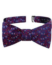 Ted Baker - Vine Botanical Silk Bow Tie - Lyst