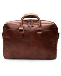 Bosca - Leather Briefcase - Lyst