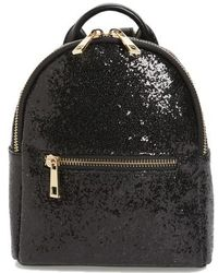 mali + lili - Mali + Lili Glitter Vegan Leather Backpack - - Lyst