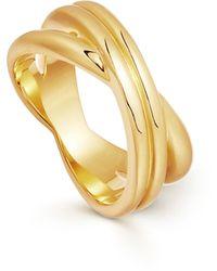 Missoma Infinity Ring - Metallic