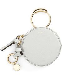 Chloé - Key Ring & Leather Pouch - Lyst