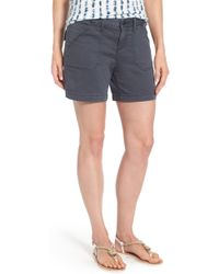 Caslon Caslon Utility Shorts - Black