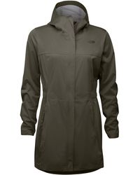 The North Face Allproof Stretch Parka - Green
