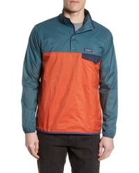 Patagonia Houdini Snap-t Pullover - Orange