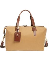 Lyst - Cole Haan Hermitage Leather Duffel Bag in Brown for Men ed6603100d769
