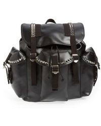 Junya Watanabe - Studded Faux Leather Backpack - - Lyst