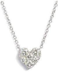Bony Levy - Heart Diamond Pendant Necklace (nordstrom Exclusive) - Lyst
