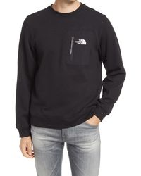 The North Face - Men's Tech Crewneck Sweatshirt - Lyst